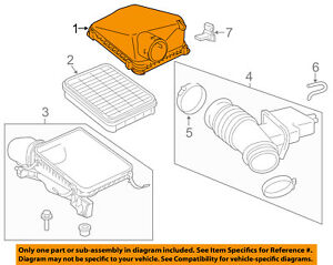 Toyota Oem Tundra Air Cleaner Intake filter Box Housing Lid Top Cover 177050s030