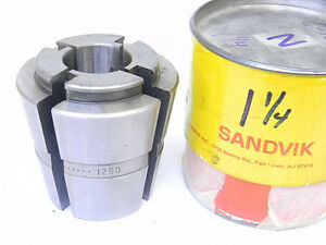 New Surplus Sandvik Balas C16 X 1 1 4 Collet C 16 X 1 25