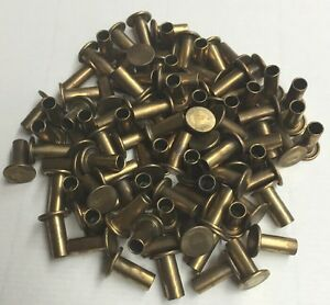 3 16 X 7 16 Semi Tubular Rivet Brass Brake Lining 3 8 Head 1000 Pcs