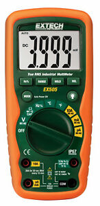 New Extech Ex505 11 Function Heavy Duty True Rms Industrial Multimeter