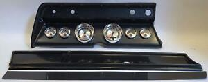 66 Chevelle Carbon Dash Carrier W Auto Meter American Muscle Gauges