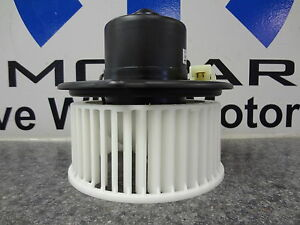 Dodge Ram Grand Cherokee A c Air Conditioning Heater Blower Motor Fan Mopar Oem