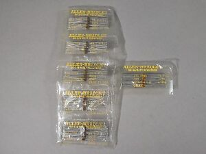 Lot Of 300 Allen Bradley Resistors Rcr05g131js 130 Ohms 1 8 Watt 5