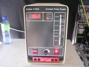 Buchler 3 1500 Constant Power Supply