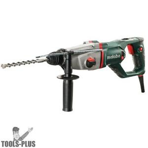 1 Sds Combination Rotary Hammer Metabo 601109420 New