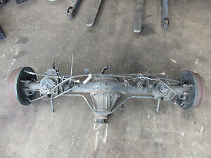 99 00 Infiniti Qx4 Rear End Differential Carrier Assembly From 12 98