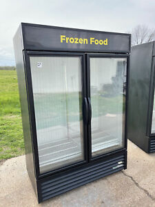 True Gdm 49f Ice Cream Freezer 15 Below True 2 Door Glass