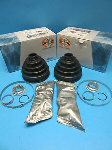 2 Front Axle Outer Cv Joint Boot Kits Left Right For Bmw Oem 31607507402