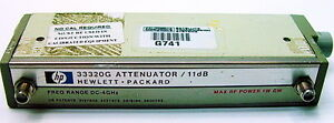 Hp Agilent 33320g Attenuator 11 Db 4 Ghz