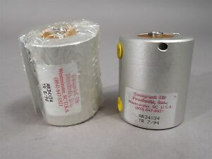 Lot Of 2 Compact Air Ar34x34 Compact Pneumatic Cylinders New