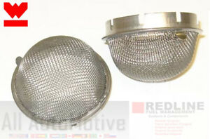 Weber 45 Dcoe Velocity Stack Dome Air Filter Screens 1 Pair