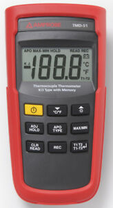Amprobe Tmd 51 Thermometer K j type