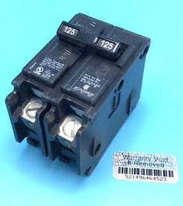 New 1 Circuit Breaker Siemens Q2125 125 Amp 2 Pole 120 240v Type Qp