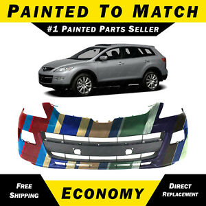 New Painted To Match Front Bumper Cover Replacement For 2007 2009 Mazda Cx9