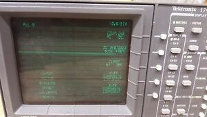 Tektronix Waveform vector Monitor 1740a w o Enclousure case