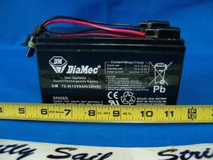 Battery for Lowrance Fishfinder
