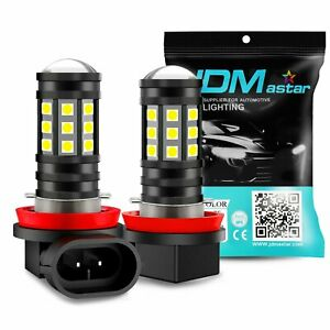 Jdm Astar M1 H11 8000 Lumens Extremely Bright Drl H8 Led Bulbs For Car Fog Light