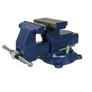 Wilton Multi purpose Reversible Bench Vise 6 1 2 Jaw Width Wmh14600 New