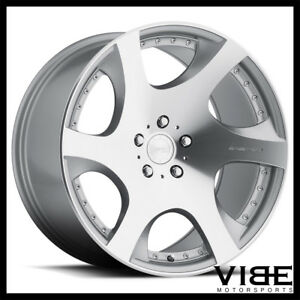 20 Mrr Vp3 Silver Concave Wheels Rims Fits Acura Tl