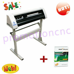 24 Vinyl Cutter Sign Cutting Plotter Usb Port Craft Cut Design cut Great