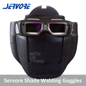Servore Arc 513 Auto Shade Welding Goggles With Protective Face Shield Free Ship