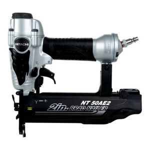 Hitachi 18 gauge 2 In Finish Brad Nailer Kit Nt50ae2 Recon