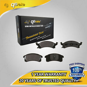 Up Qbrake 4 Front Ceramic Brake Pad Cd506 For Chevrolet Cavalier Pontiac Sunfire