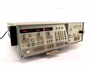 Hp Agilent 8350a Sweep Oscillator