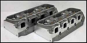 Bbc Chevy 496 540 572 Bravo 335 Rec Port 335cc Aluminum Heads Bare Set pair