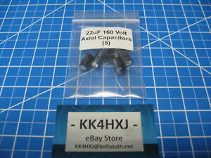 Sc Gha Series Axial Electrolytic Capacitors 160v 22uf 5 Pieces