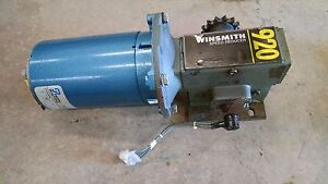 Yale Forklift Stock Picker Stacker Steering Motor Winsmith 920 920mwt Mwt