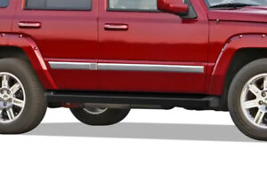Iboard Black Running Boards Style Fit 05 10 Jeep Grand Cherokee Commander
