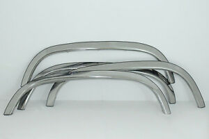 1988 1998 Chevrolet Ck Pickup With Side Moldings Stainless Steel Fender Trim