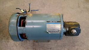 Hyster E30xl Electric Forklift Ohio Motor Js Barnes C 481513x7525 325186 Pump