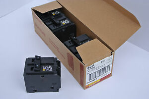Box Of 5 Square D Hom230 Two pole Circuit Breaker Hom230 30amp New