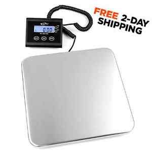 New 330 Lb Digital Shipping Scale Weighmax Industrial Stainless Business Weigh