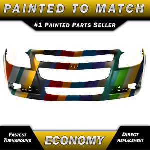 New Painted To Match Front Bumper Cover For 2008 2012 Chevrolet Malibu 08 12