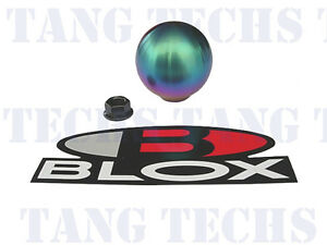 Blox Racing 490 Spherical Neo Chrome Shift Knob 10x1 25mm Subaru Nissan Mazda