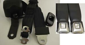 Morris Classic 3 Point Shoulder Front Seat Belt 66 73 Chevelle With Bucket Seat