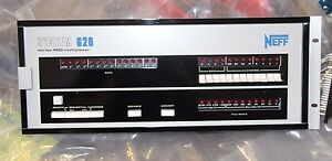 Neff System 620 Data Acquisition Series 300 Signal Conditioner Front Face Aarr
