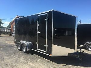 New 2018 7 X 14 Enclosed With 7ft Interior Trailer Sale Price