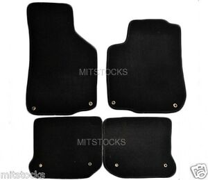 Fit For 1999 2005 Volkswagen Golf Jetta Mk4 Only Black Carpet Floor Mats