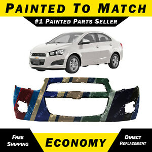 New Painted To Match Front Bumper Cover For 2012 2016 Chevy Sonic Sedan Hatch