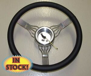 Banjo bl 15 Banjo Style Steering Wheel With Adapter In Black Leather