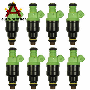 42lb 440cc Ev1 Fuel Injectors For Gm Lt1 Ls1 Ls6 Ford Mustang Sohc Dohc Set 8