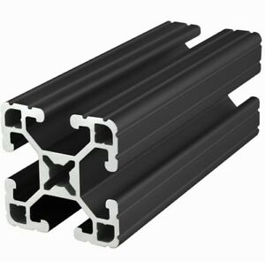 80 20 Inc 15 Series T slot Aluminum Extrusion 1515 ul black X 96 5 Long N