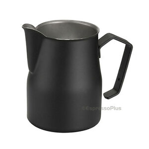 Motta Black Professional Milk Frothing Pitcher 25 Oz 75 Cl Made In Italy