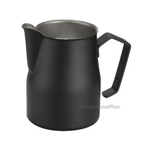 Motta Black Professional Milk Frothing Pitcher 12 Oz 35 Cl Made In Italy