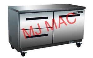 New Maxx Cold M Mxcr48u dl Commercial Undercounter Refrigerator W Drawers