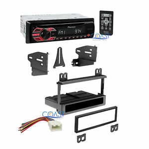 Pioneer Car Radio Stereo W Dash Kit Harness For 1995 Up Ford Lincoln Mercury